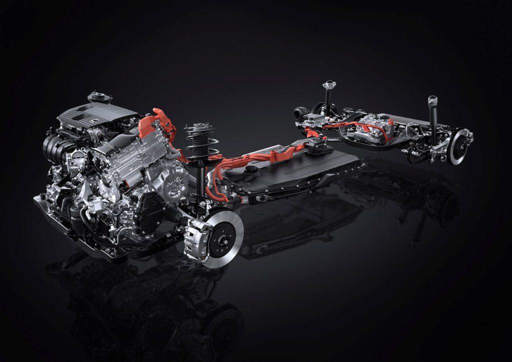 2022 Lexus NX 450h+ PHEV drivetrain