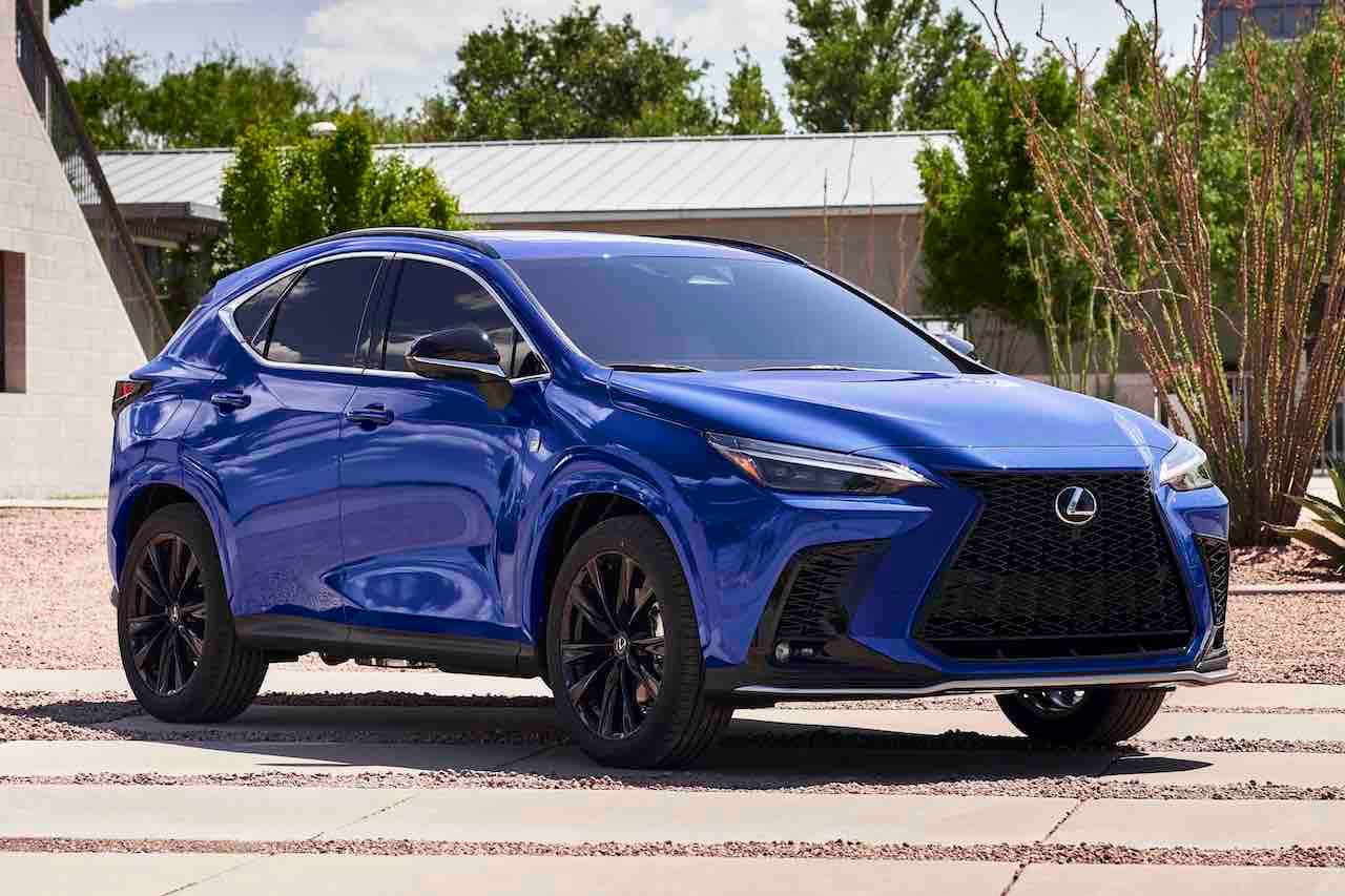 2022 Lexus NX 450h plug-in hybrid PHEV front