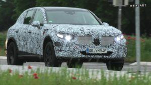 2022 Mercedes GLC X254 front spy shot