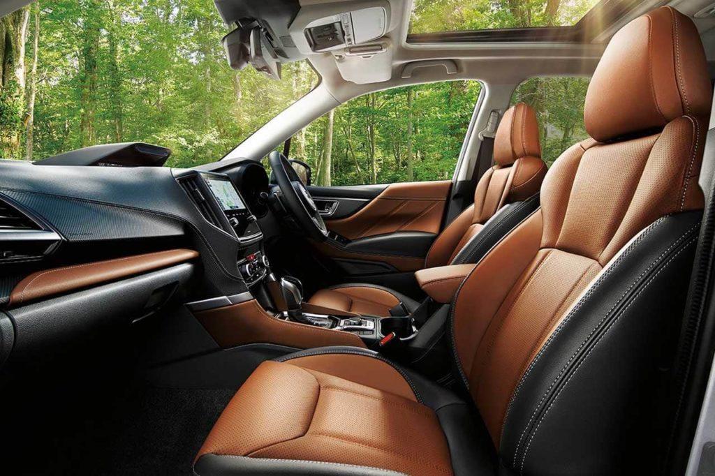 2022 Subaru Forester facelift interior