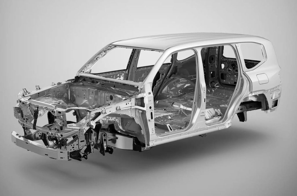 2022 Toyota Land Cruiser 300 body
