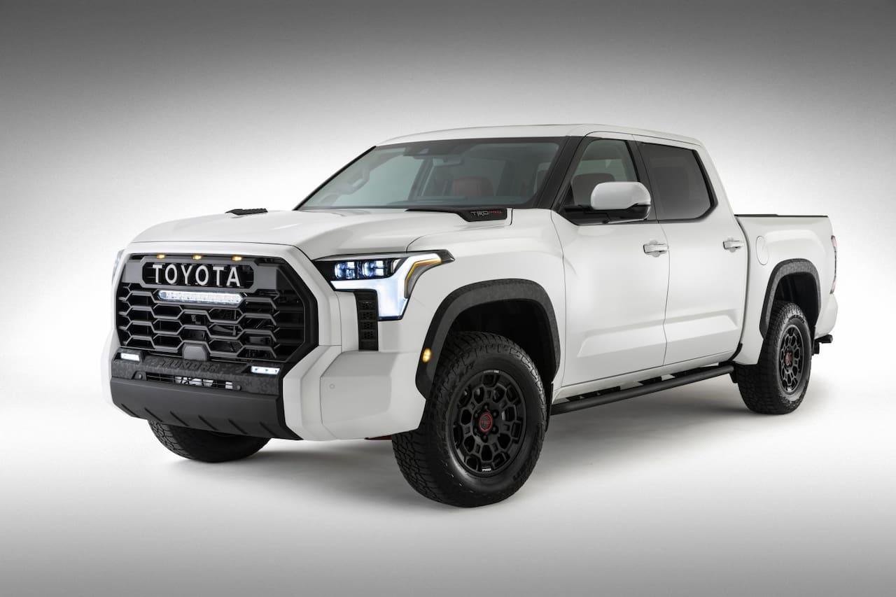 2022 Toyota Tundra TRD Pro front three quarters