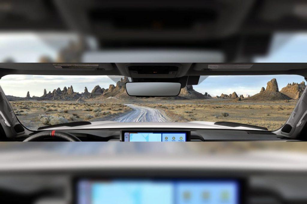 2022 Toyota Tundra interior dashboard teaser