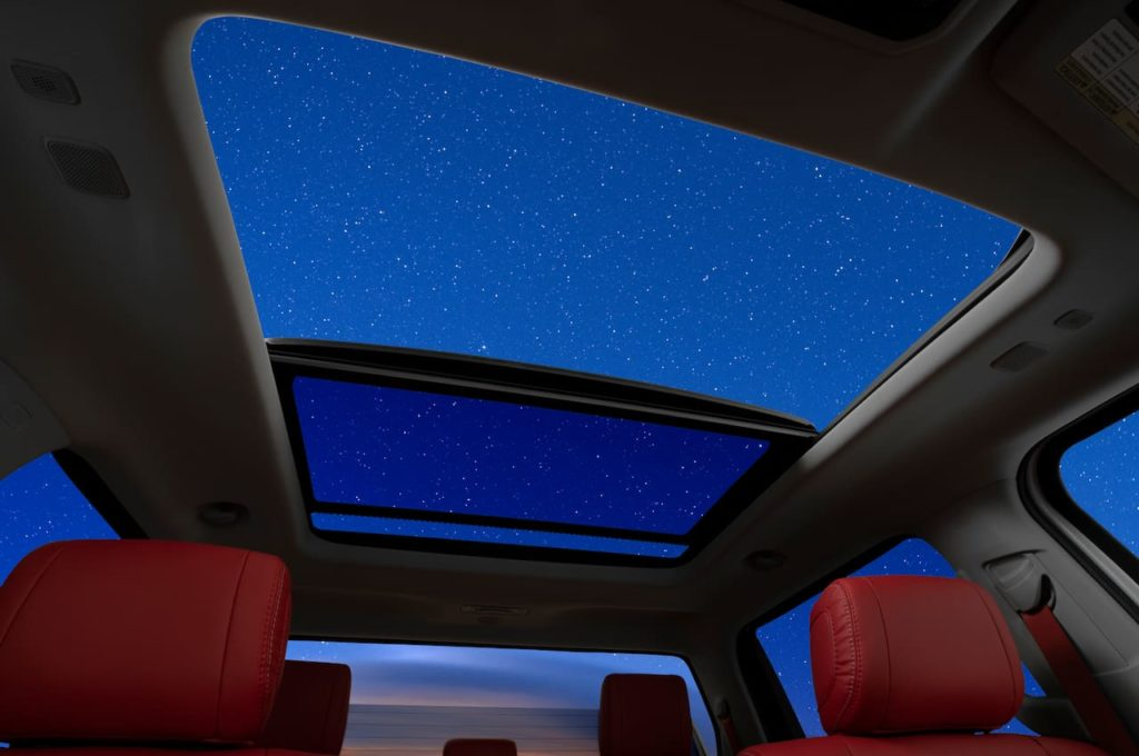 2022 Toyota Tundra panoramic sunroof