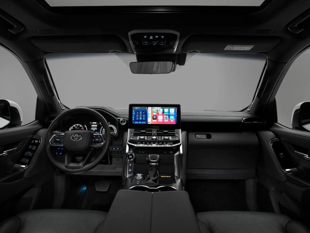 Euro-spec 2022 Toyota Land Cruiser 300 interior