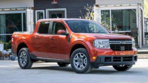 Ford Maverick hybrid truck
