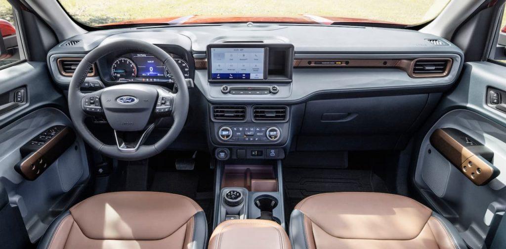 Ford Maverick interior