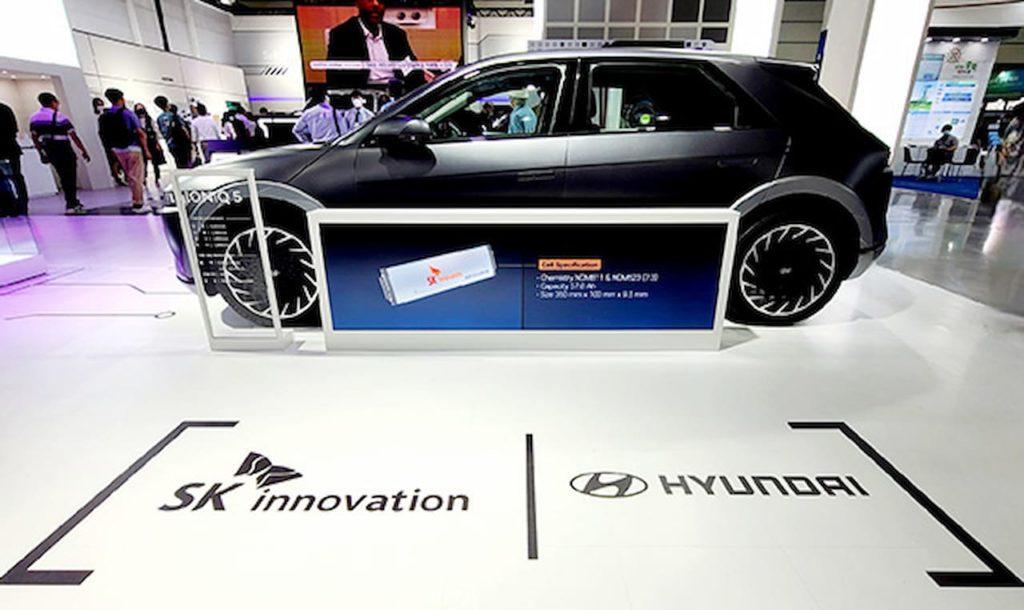 Hyundai Ioniq 5 SK Innovation InterBattery 2021 event