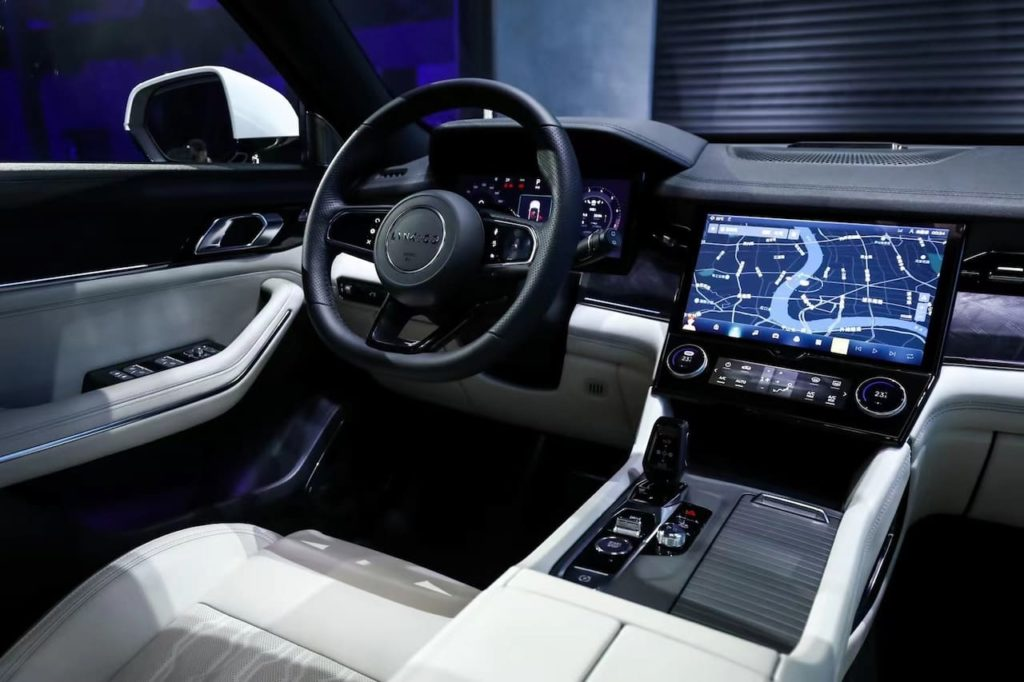 Lynk and Co 09 interior dashboard
