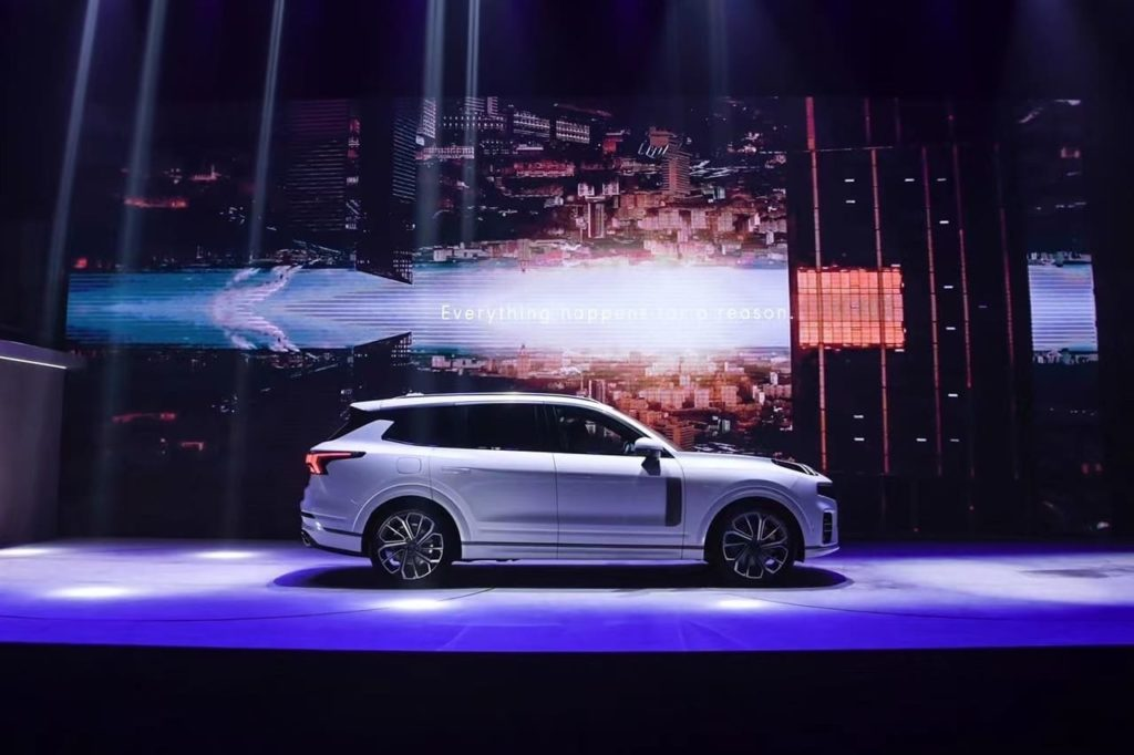 Lynk and Co 09 side profile world premiere