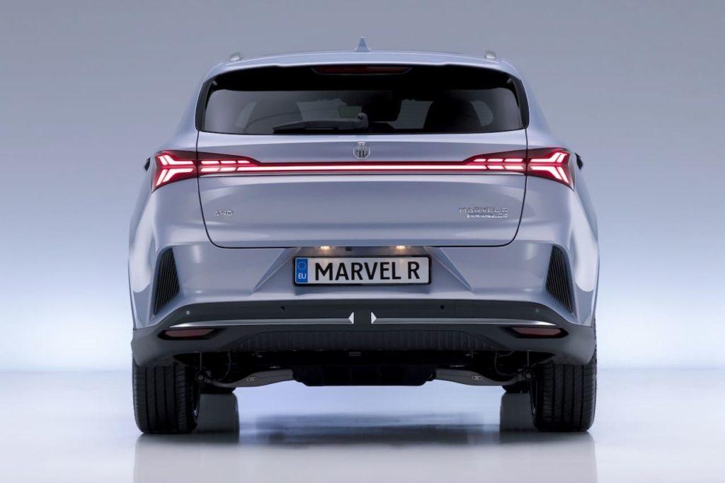 MG Marvel R rear live image