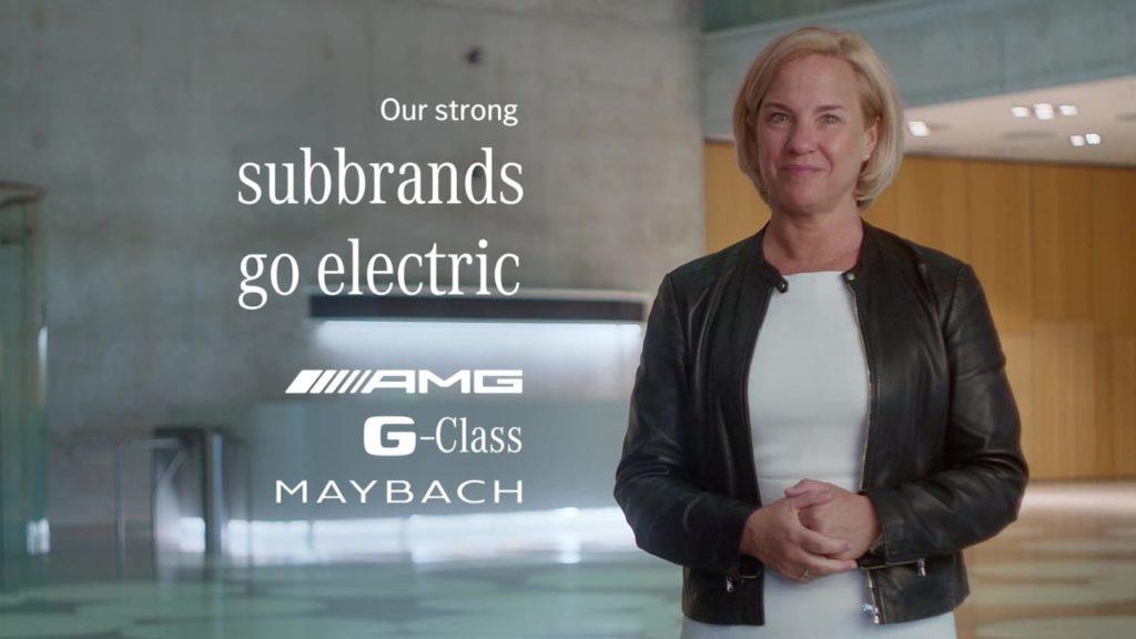 Mercedes-Benz electric sub-brands