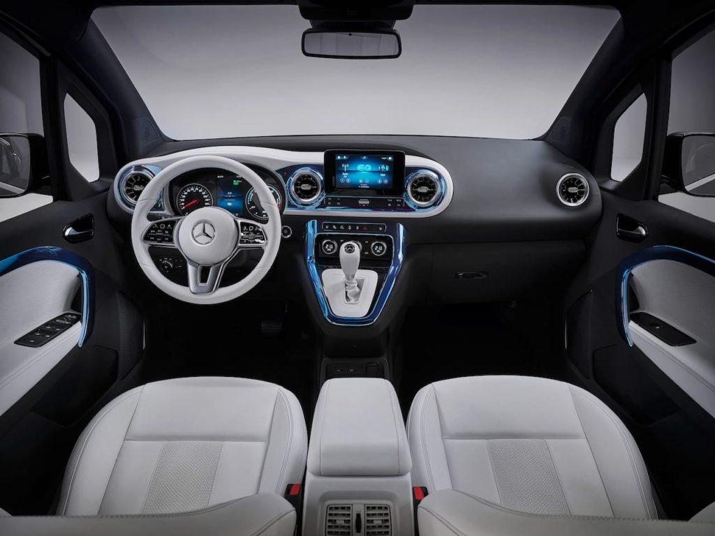 Mercedes EQT concept interior