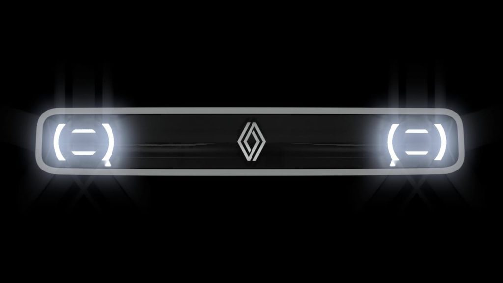 New Renault 4 electric front teaser