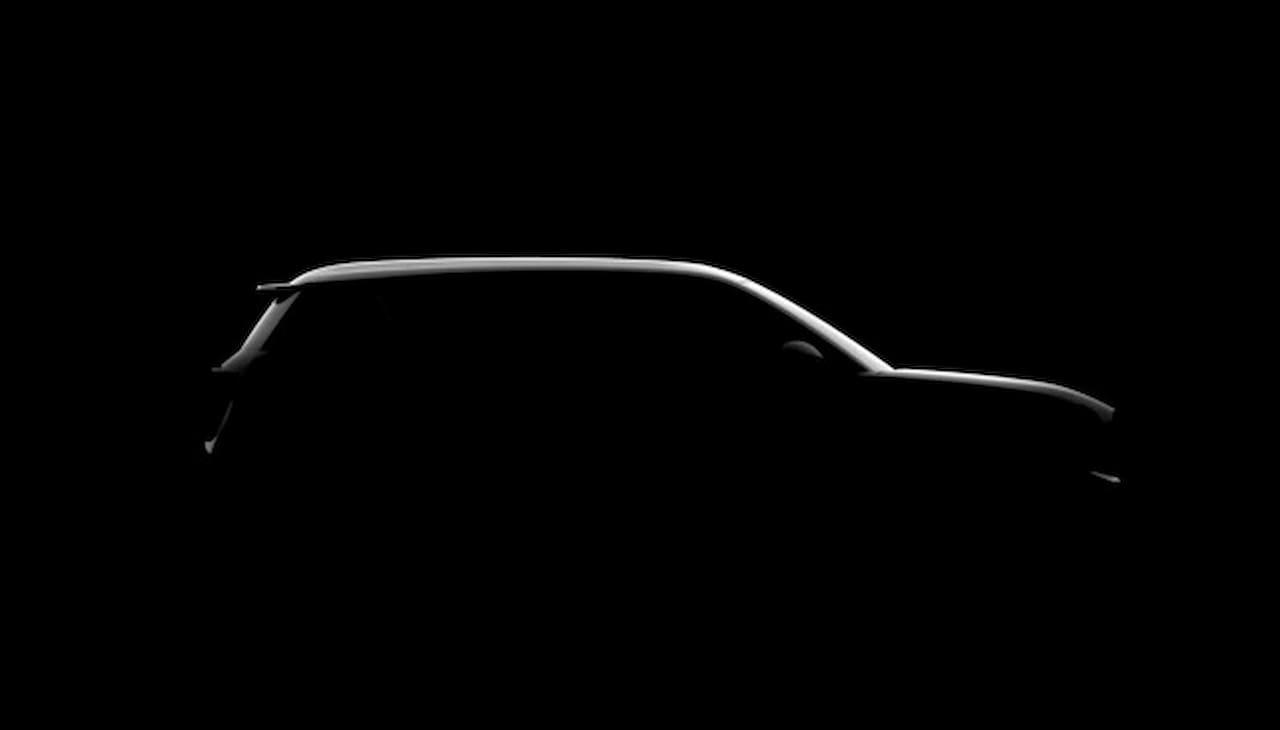 New Renault 4 electric side teaser