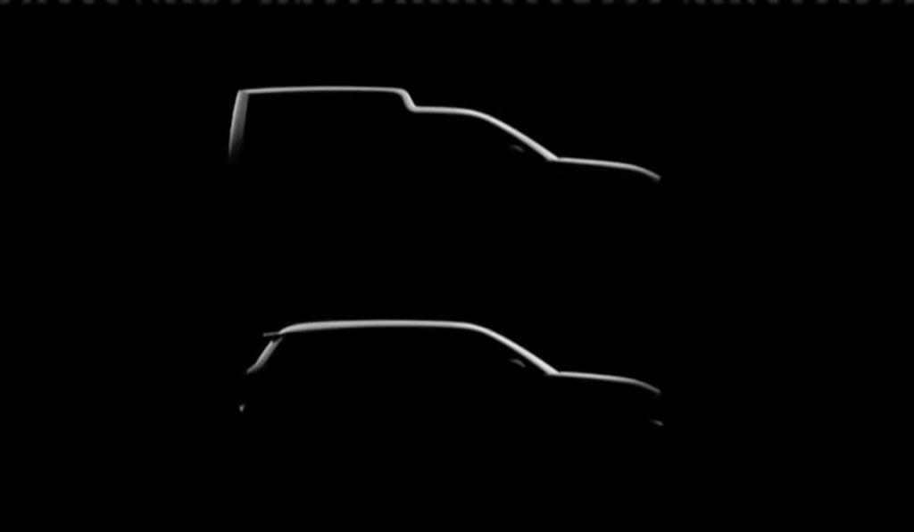 Renault 4 EV cargo version or Express teaser (2025)