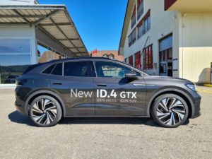 VW ID.4 GTX side profile live image