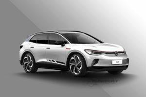VW ID.4 high performance variant rendering