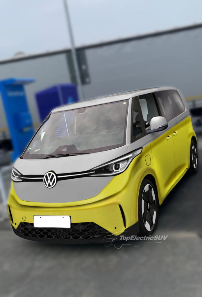 VW ID.Buzz electric van render