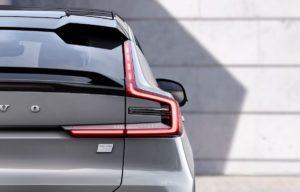 Volvo C40 taillight