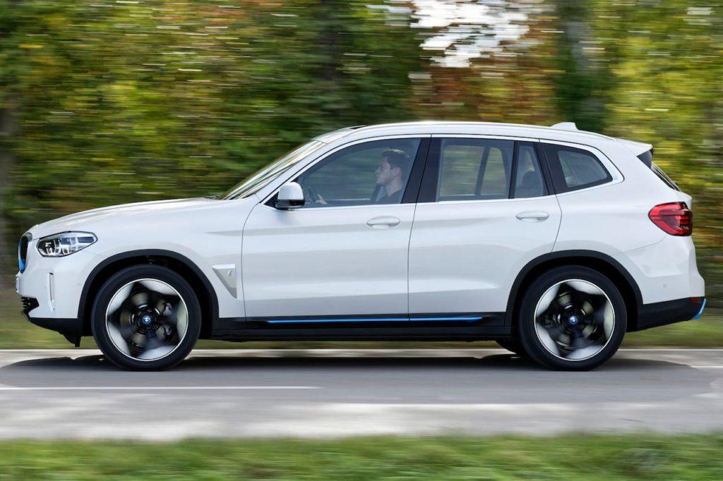 2021 BMW iX3 side profile