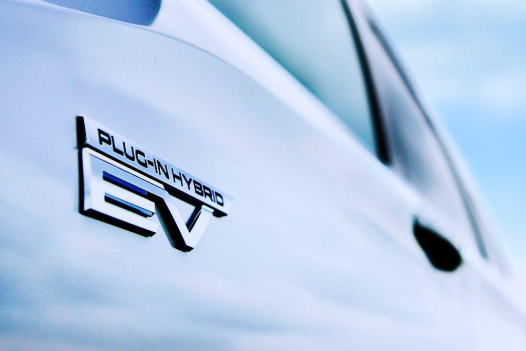New Mitsubishi Outlander PHEV Plug-In Hybrid EV badge (2022 launch)