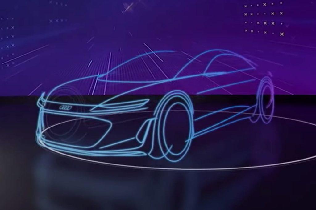 Audi Artemis Audi Landjet teaser