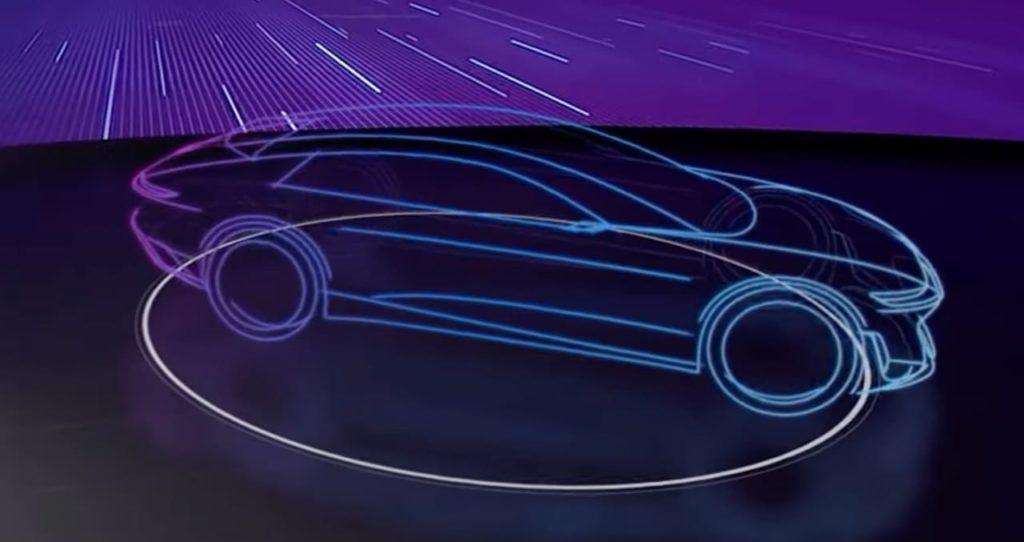 Audi Artemis teaser mesh side