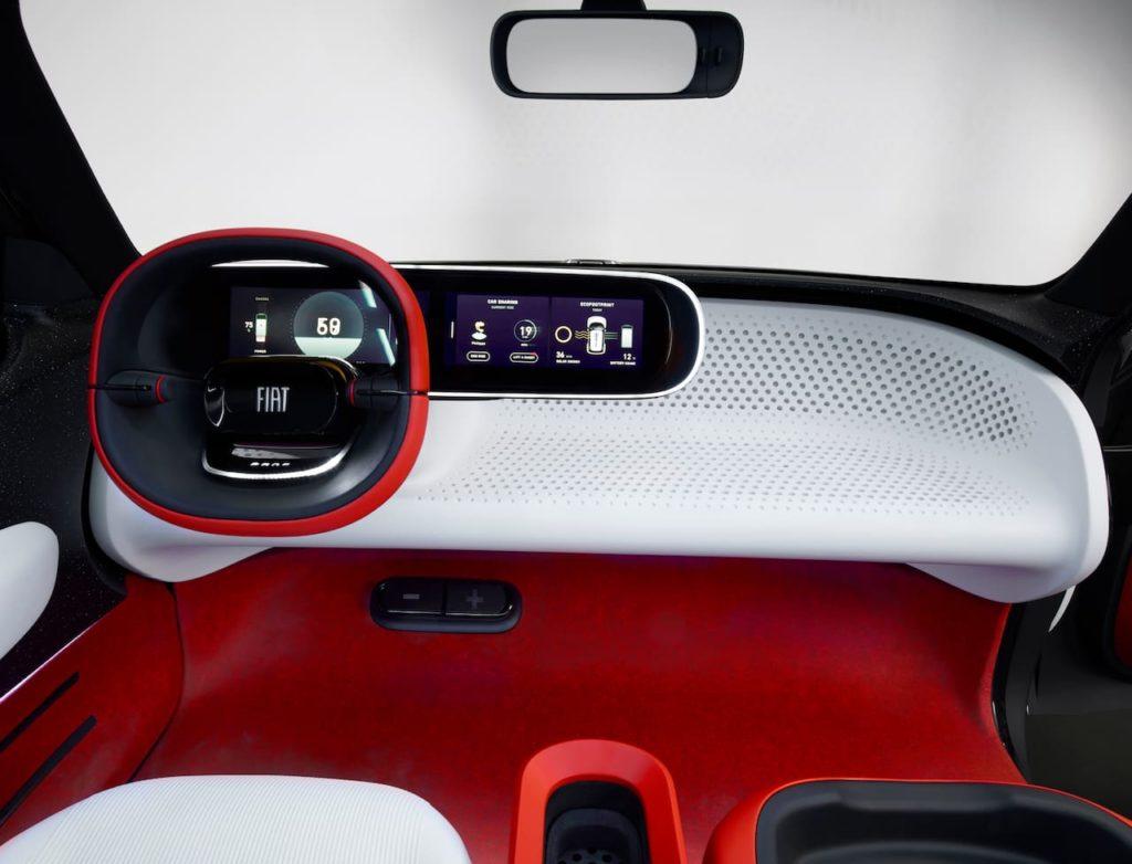 Fiat Centoventi concept interior dashboard
