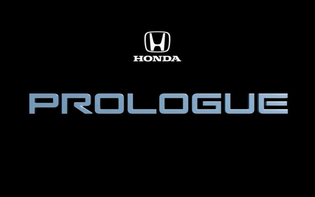 Honda Prologue badge
