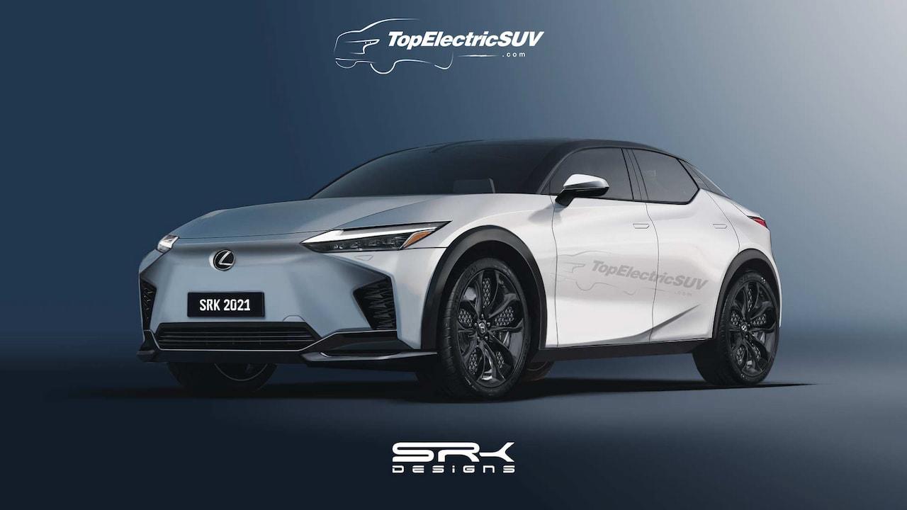 Lexus RZ450e production Lexus LF-Z Electrified rendering