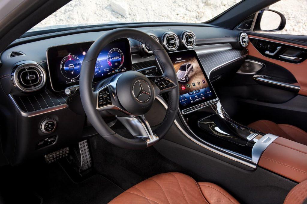 Mercedes C-Class All-Terrain interior