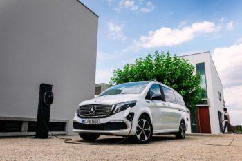 Next-gen Mercedes EQV likely to use the Daimler VAN.EA platform