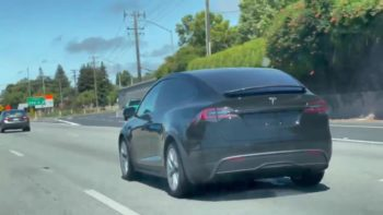 New Tesla Model X spied, could go on sale in October