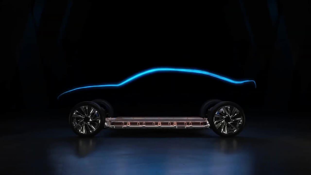 Next-gen Chevrolet Camaro teaser