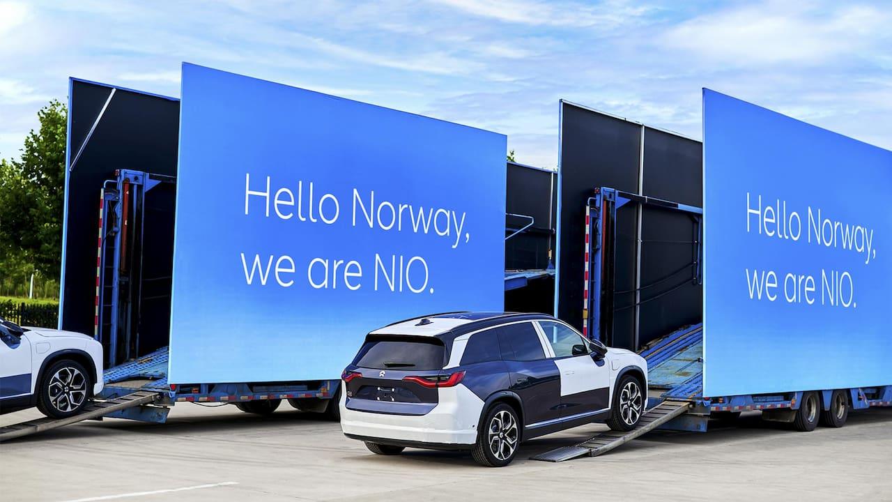 Nio ES8 Norway batch