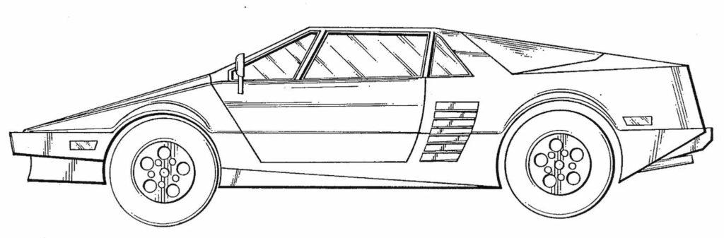 Tesla Cybertruck design patent application reference sports car 2