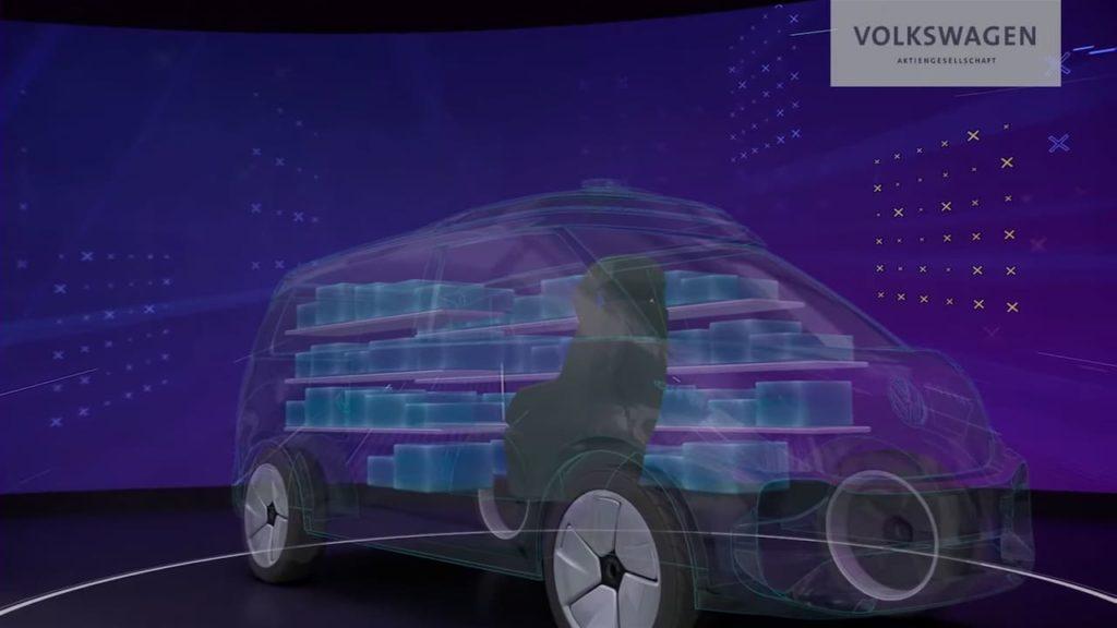 VW ID Buzz Cargo teaser