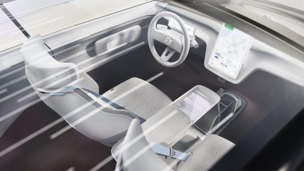 Volvo Recharge Concept interior