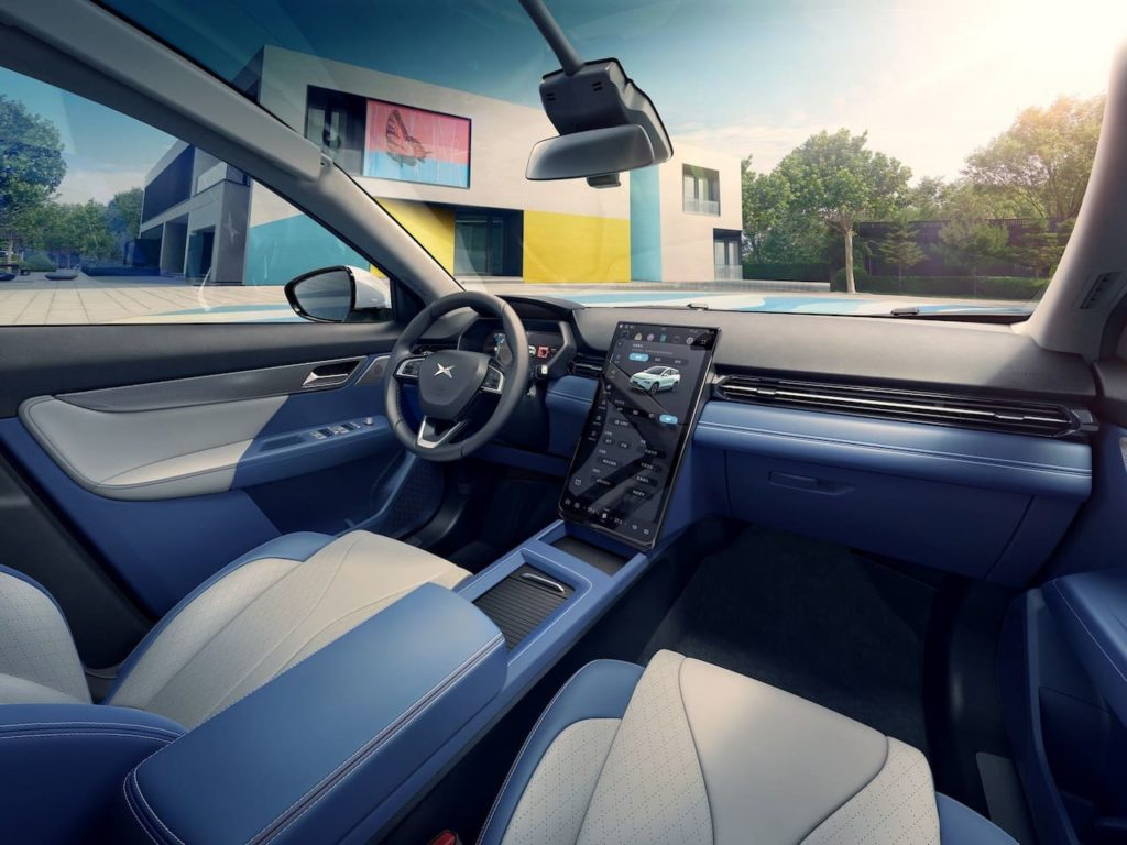 Xpeng G3i interior dashboard official image