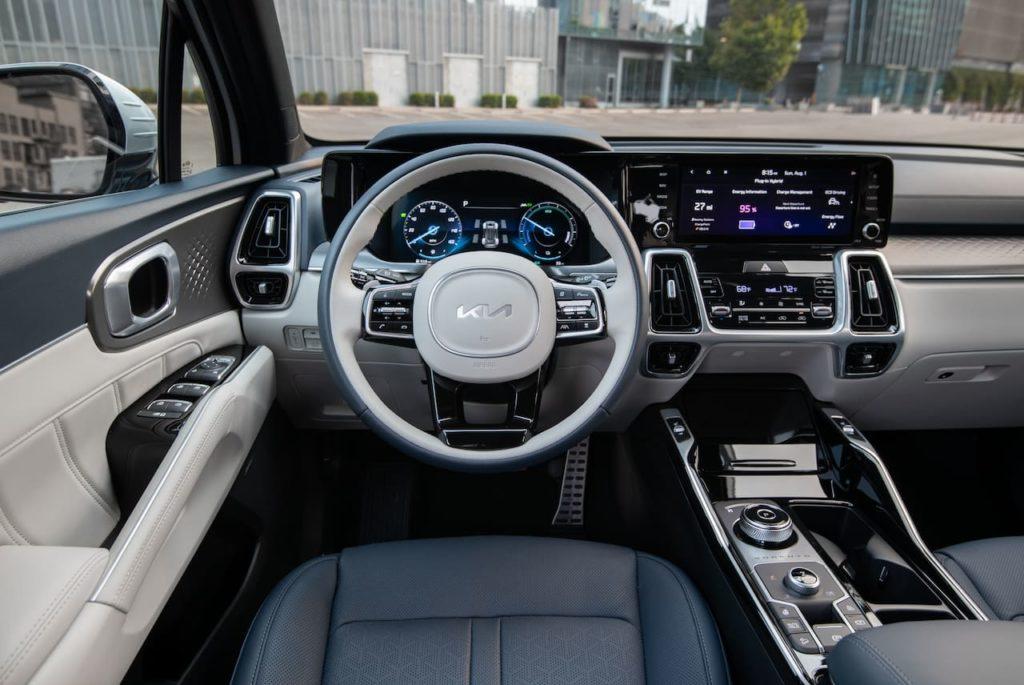 2022 Kia Sorento PHEV interior dashboard driver side