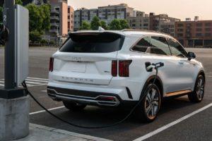 2022 Kia Sorento PHEV rear charging