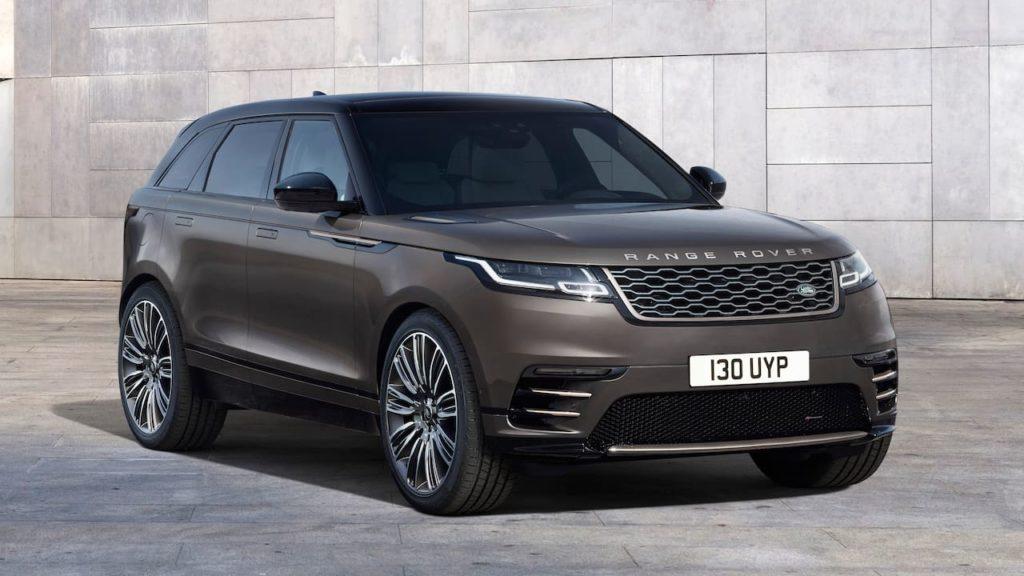 2022 Range Rover Velar Auric Edition front three quarters