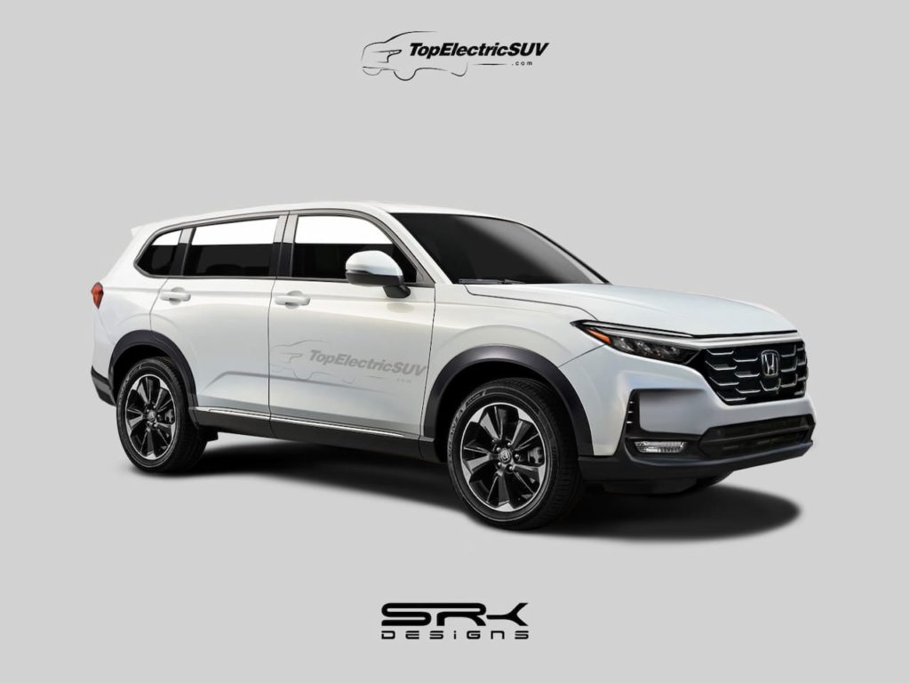 2023 Honda CR-V rendering