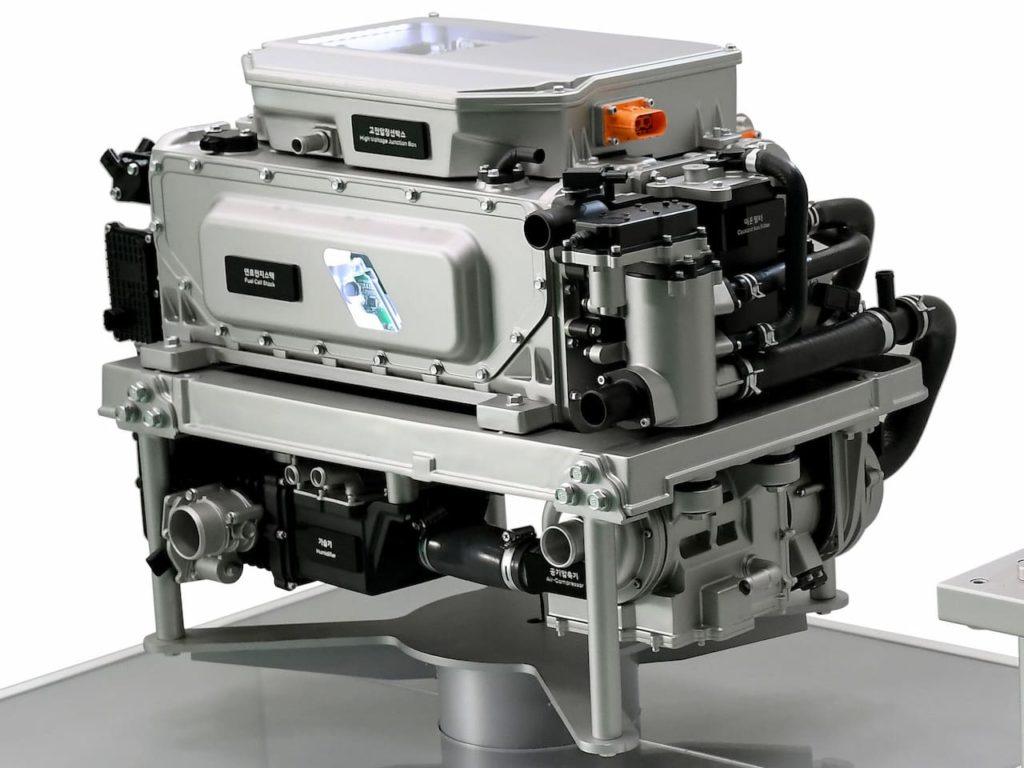 2023 Hyundai Nexo fuel cell system