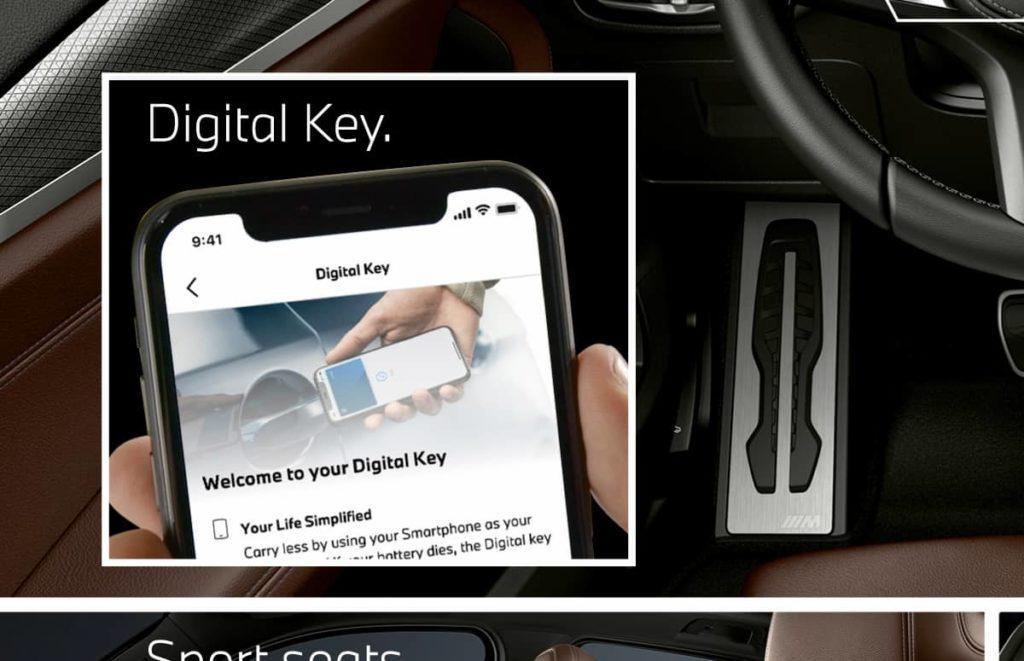 BMW Digital Key for iX3