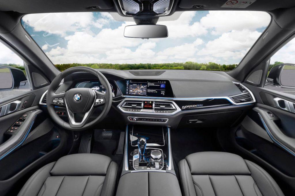BMW iX5 Hydrogen interior dashboard