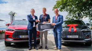 BYD Tang EV Norway first delivery