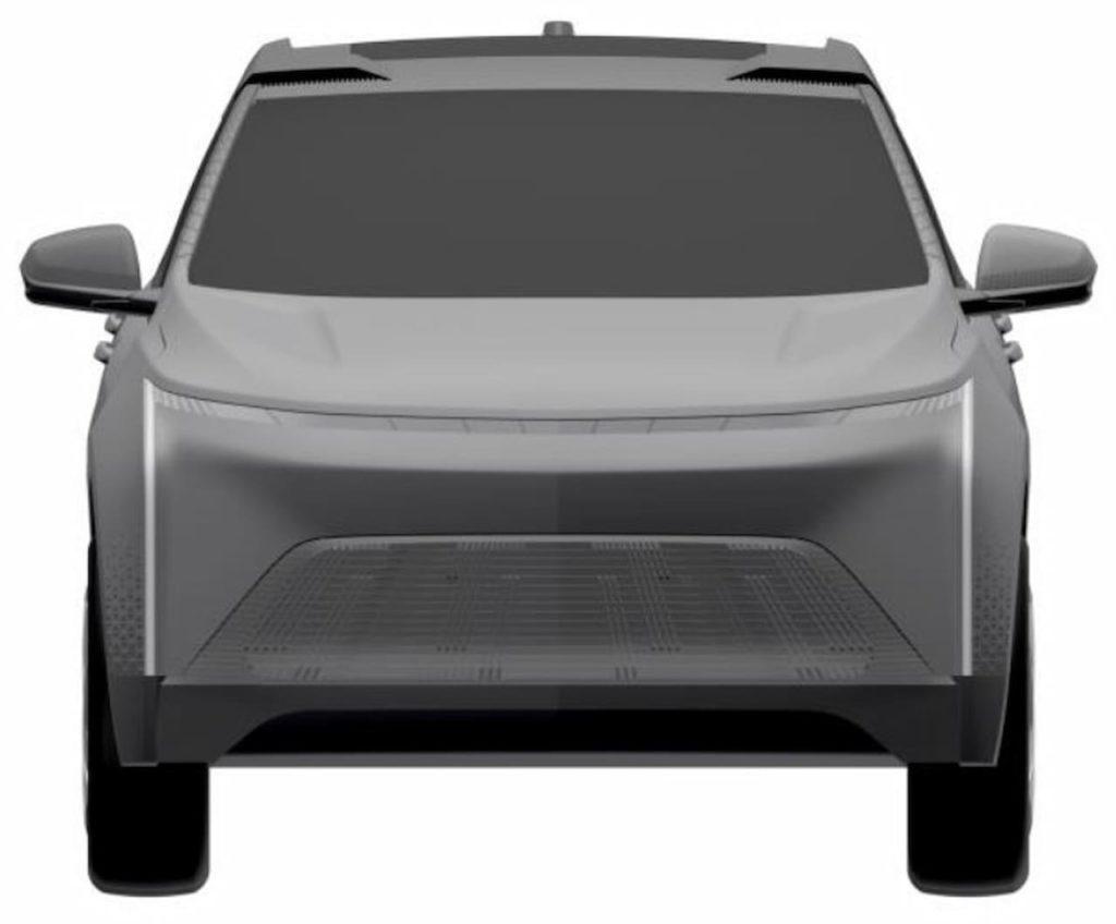 Chevrolet Equinox EV front patent image
