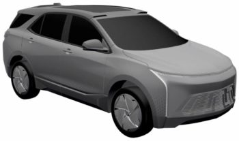 Chevrolet Equinox EV in the making, leaked in patent images